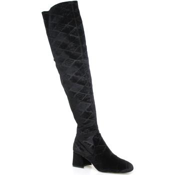 Chaussures Femme Cuissardes Apepazza SHR06 Noir