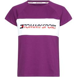 Vêtements Femme T-shirts manches courtes Tommy Hilfiger S10S100331 Violet