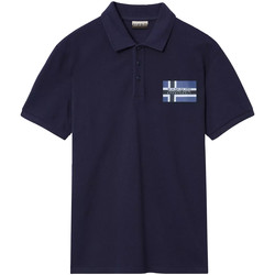 Vêtements Homme Polos manches courtes Napapijri NP0A4E2K Bleu