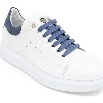 Chaussures Homme Baskets basses Exton 955 Blanc