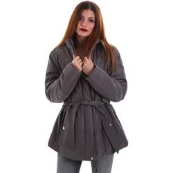 Vêtements Femme Parkas Geox W8420E T2506 Gris