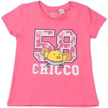 Vêtements Enfant T-shirts manches courtes Chicco 09006955000000 Rose