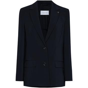 Vêtements Femme Vestes / Blazers Calvin Klein Jeans K20K201776 Noir