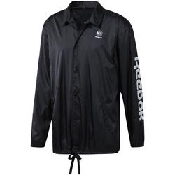 Vêtements Homme Coupes vent Reebok Sport DT8205 Noir