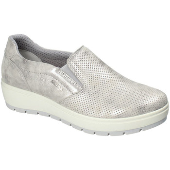 Chaussures Femme Slip ons Enval 3268011 Argent