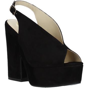 Chaussures Femme Sandales et Nu-pieds Grace Shoes ALBA 107 Noir