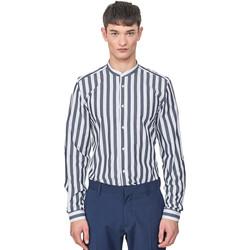 Vêtements Homme Chemises manches longues Antony Morato MMSL00604 FA420096 Bleu