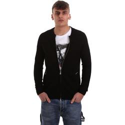 Vêtements Homme Gilets / Cardigans Gaudi 921BU53015 Noir
