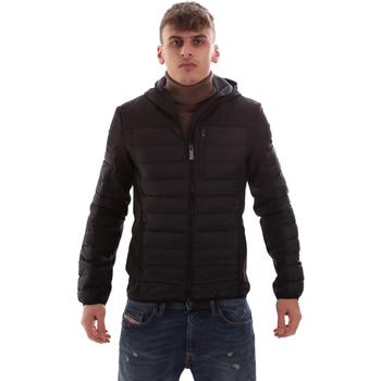 Vêtements Homme Doudounes Lumberjack CM69422 001 601 Noir
