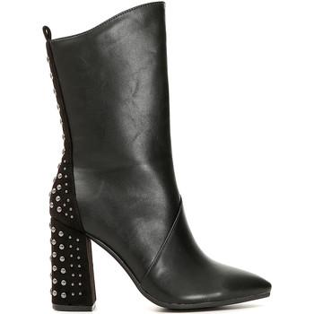 Chaussures Femme Bottes ville Café Noir MA944 Noir
