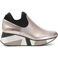 Chaussures Femme Slip ons Café Noir DH969 Gris