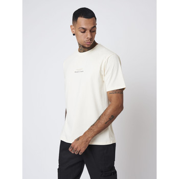 Vêtements Homme Polos manches courtes Project X Paris Tee Shirt Blanc