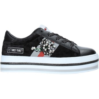Chaussures Enfant Baskets basses Sweet Years W19-SSK313 Noir