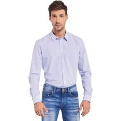 Vêtements Homme Chemises manches longues Gaudi 011BU45032 Bleu