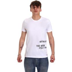 Vêtements Homme T-shirts manches courtes Gaudi 011BU64071 Blanc