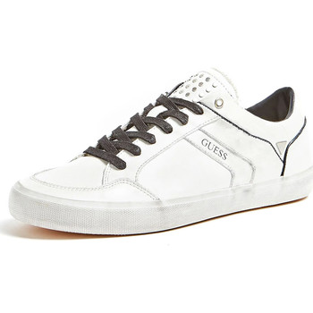 Chaussures Homme Baskets basses Guess FM5STA LEA12 Blanc
