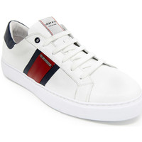 Chaussures Homme Baskets basses Exton 861 Blanc