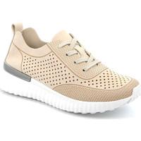 Chaussures Femme Baskets basses Grunland SC4906 Beige