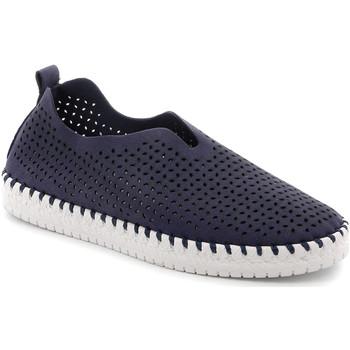 Chaussures Femme Slip ons Grunland SC4910 Bleu