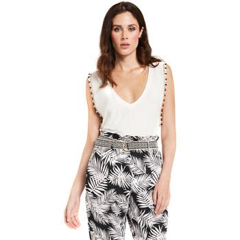 Vêtements Femme Tops / Blouses Gaudi 011FD64008 Blanc