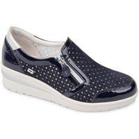 Chaussures Femme Slip ons Valleverde 18152 Bleu