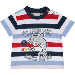 Vêtements Enfant T-shirts manches courtes Chicco 09006876000000 Bleu