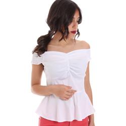 Vêtements Femme Tops / Blouses Gaudi 011FD45054 Blanc