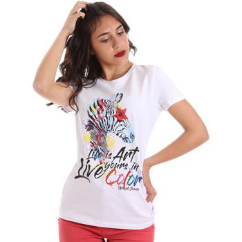Vêtements Femme T-shirts manches courtes Gaudi 011BD64003 Blanc