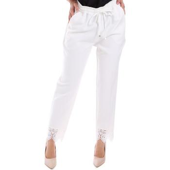 Vêtements Femme Chinos / Carrots Gaudi 011FD25011 Blanc