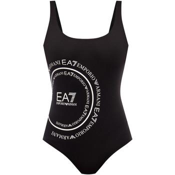 Vêtements Femme Maillots de bain 1 pièce Ea7 Emporio Armani 911128 0P427 Noir
