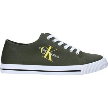 Chaussures Homme Baskets basses Calvin Klein Jeans B4S0670 Vert