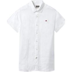 Vêtements Homme Chemises manches courtes Napapijri NP000IF1 Blanc