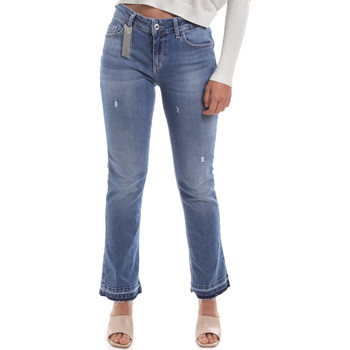 Vêtements Femme Jeans bootcut Liu Jo UA0022 D4448 Bleu