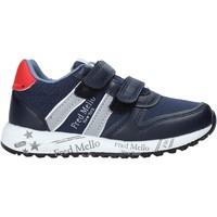 Chaussures Garçon Baskets basses Fred Mello S20-SFK318 Bleu
