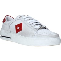 Chaussures Homme Baskets basses Exton 178 Blanc
