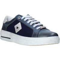 Chaussures Homme Baskets basses Exton 177 Bleu