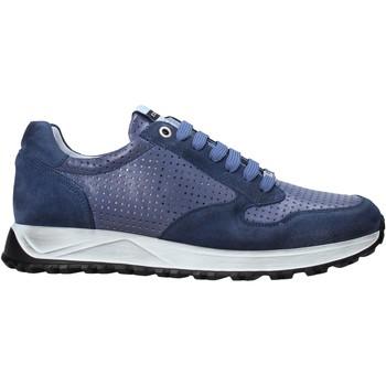 Chaussures Homme Baskets basses Exton 741 Bleu