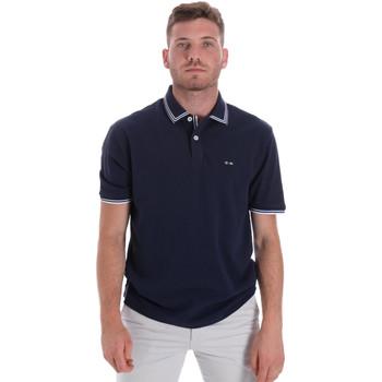 Vêtements Homme Polos manches courtes Les Copains 9U9020 Bleu