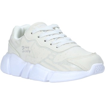 Chaussures Enfant Baskets basses Miss Sixty S20-SMS737 Blanc