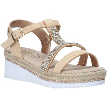 Chaussures Fille Sandales et Nu-pieds Miss Sixty S20-SMS785 Or