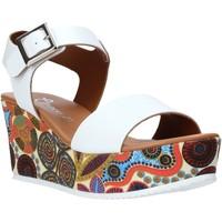 Chaussures Femme Sandales et Nu-pieds Grace Shoes 07 Blanc