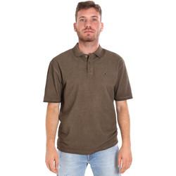 Vêtements Homme Polos manches courtes Les Copains 9U9016 Marron