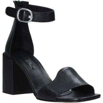 Chaussures Femme Sandales et Nu-pieds Mally 6866 Noir