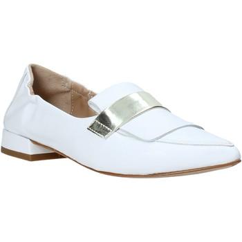 Chaussures Femme Mocassins Mally 6926 Blanc