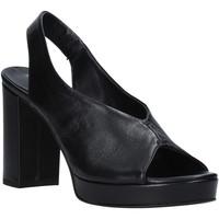 Chaussures Femme Sandales et Nu-pieds Mally 6843 Noir