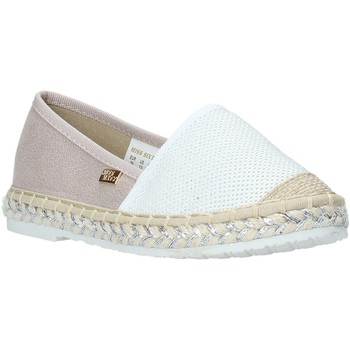 Chaussures Fille Espadrilles Miss Sixty S20-SMS704 Blanc