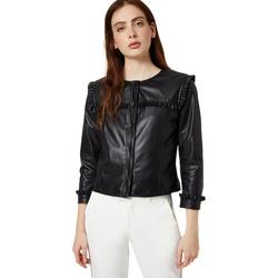 Vêtements Femme Vestes en cuir / synthétiques Liu Jo WA0153 E0392 Noir