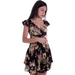 Vêtements Femme Robes courtes Liu Jo FA0303 T4031 Noir
