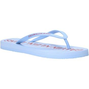 Chaussures Femme Tongs Calvin Klein Jeans B4R0904 Bleu
