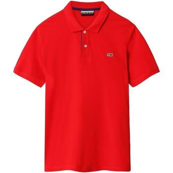 Vêtements Homme Polos manches courtes Napapijri NP0A4EGD Rouge